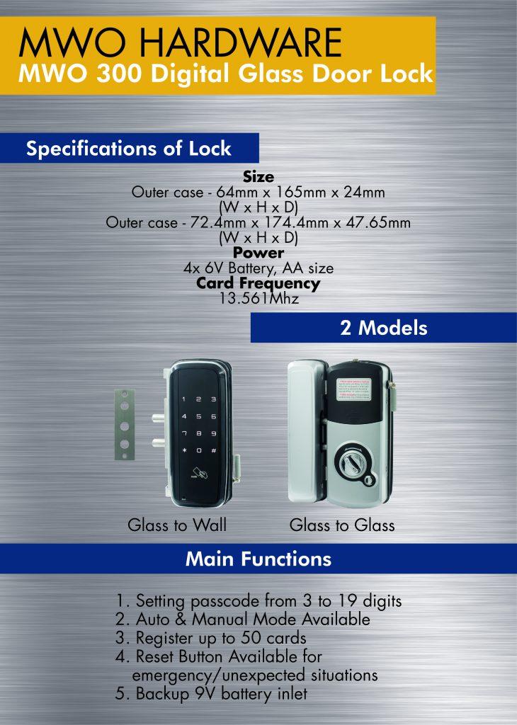 MWO 300 Digital Door Lock