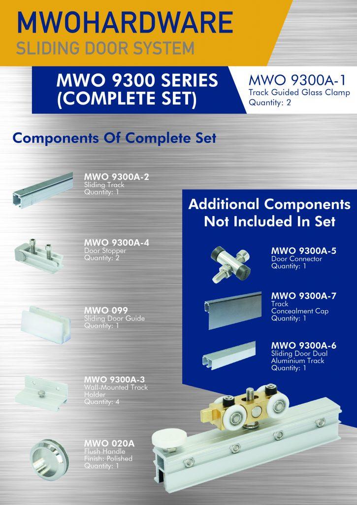 MWO 9300 Kitchen Sliding System